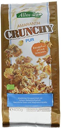 Allos Amaranth Crunchy Pur, 6er Pack (6 x 400 g)