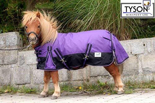 1200 Denier Regendecke Minipony Minishetty Mini Shetty Lila Outdoordecke 65 70 75 80 85 90 95 100 cm Tysons (85)