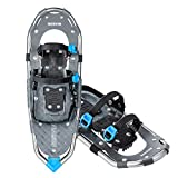 RESVIN Snow Shoes, Lightweight Aluminum Snowshoes for Men and Women, Adjustable Bindings Snowshoes with Carry Bag, 25'