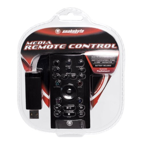 PS3 - Media Remote Control Fernbedienung