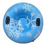 Hbao Winter-aufblasbarer Ski-Ring-Käsekuchen mit Griff-Skiring Rolling Schnee-Tube-Ski-Verdickung Floating-Schlitten