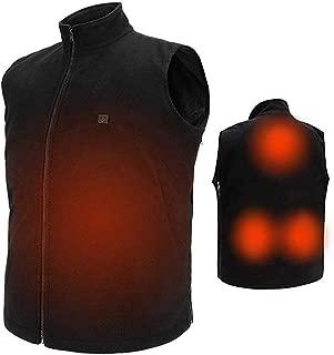 COZIHOMA USB Electric Heated Vest Size Adjustable Washable Heating Vest Clothing