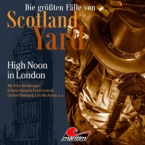 High Noon in London audiobook cover art