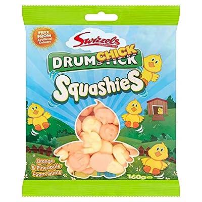 swizzels drumchick squashies, 160g Swizzels Drumchick Squashies, 160g 51LSI93B jL