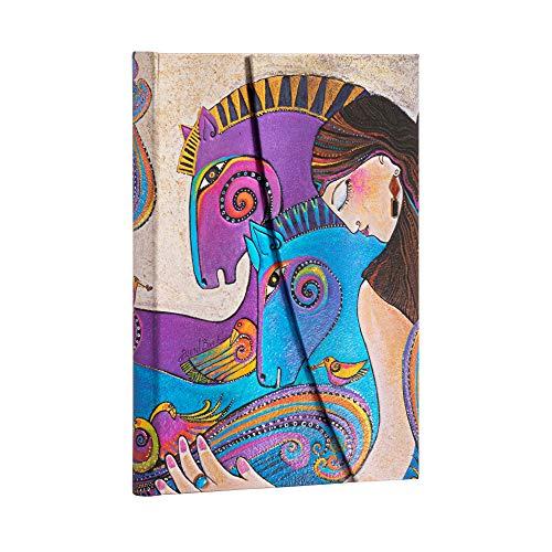Paperblanks Cuadernos de Tapa Dura María y las Yeguas   Rayado   Midi (130 × 180 mm)