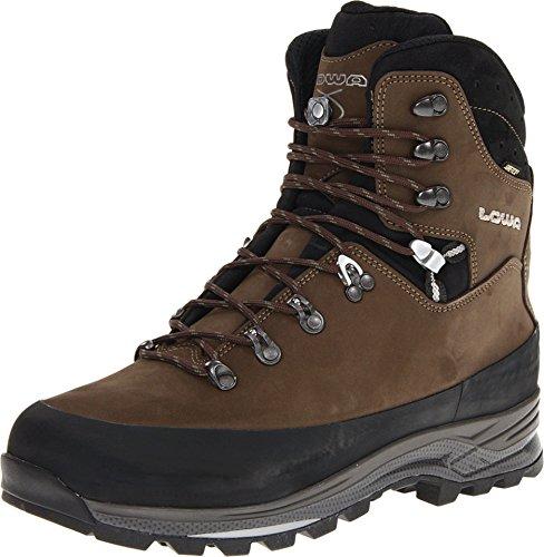 Lowa Men's Tibet GTX Trekking Boot,Sepia/Black,10.5 M US