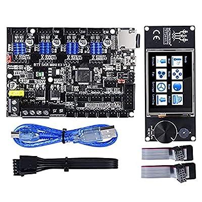 PoPprint SKR MINI E3 V1.2 32Bit Controller Integrated TMC2209 UART+ TFT24 V1.1 Screen for Ender 3/5 SKR Pro 3D Printer