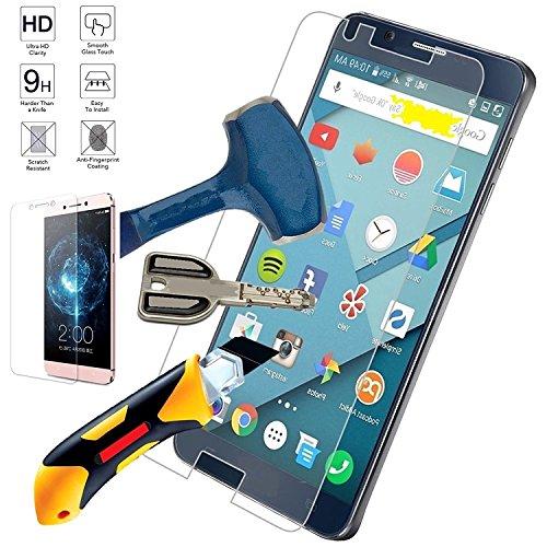 juba755.Store - Protector de cristal templado para Samsung Galaxy A5 2017 antigolpes, antiarañazos