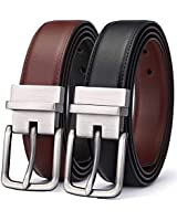 Men's Belt, Bulliant Leather Reversible Belt 1.25