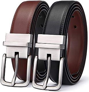 Men's Belt, Bulliant Leather Reversible Belt 1.25
