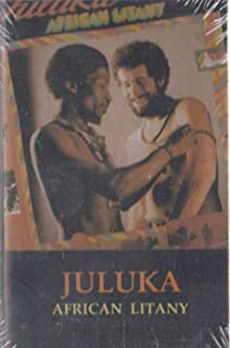 Juluka: African Litany -18413 Cassette Tape