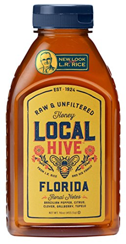 Local Hive Florida Raw amp Unfiltered Honey 16oz