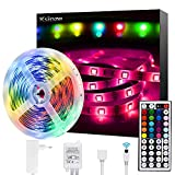 Ksipze LED Strip 5m RGB LED Lichterkette mit...