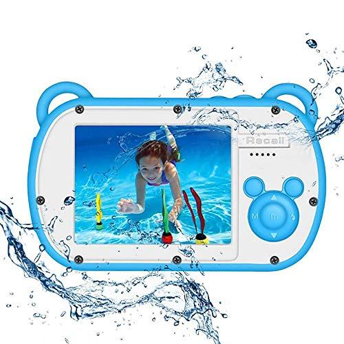 XXF waterdichte camera, waterdichte digitale camera voor kinderen HD 1080P onderwater-kinder-videocamera met 2,7-inch scherm 8X kinderen digitale videocamera camcorder voor geschenken