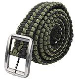MOH Cintura di Sopravvivenza Ombrello Corda Cintura di Sopravvivenza Cintura Militare Tessuta a Mano Cintura per Escursioni in Campeggio