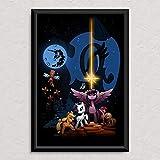 My Little Pony - Star Wars - Original Art Poster Print