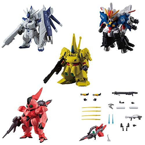 FW Gundam Converge Plus02 (5 Pack), Candy Toy, Gum (Gundam Series)