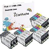 iCartouche Cartucho de Tinta Compatible para Epson 29XL Expression Home XP-235 XP-245 XP-247 XP-255 XP-257 XP-332 XP-335 XP-342 XP-345 XP-352 XP-355 XP-432 XP-435 XP-442 XP-452 XP-455 (6BK 3C 3M 3Y)