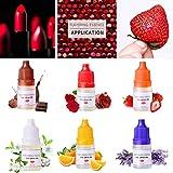 Seifenduftöl, 6 Flüssig Duftöl Seifen Duft Set, Seifenduftöl Bio 5ml Flavouring Essence DIY...