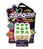 Top Secret Toys ZoomQube, High Speed Electronic Light Game Cube with Sound, Tests Players Skill and Reaction! Play in The Dark, Improve Memory and Pattern Recall, for Ages 3 and Up