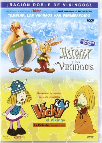 Asterix y los vikingos / Vicky el vikingo [DVD]