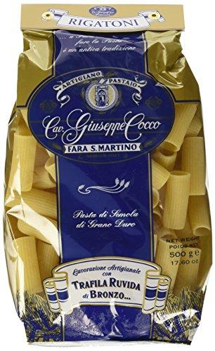 Artigiano Pastaio Formato Rigatoni N.37 Cavalier Giuseppe Cocco Fara San Martino Abruzzo - 500 g