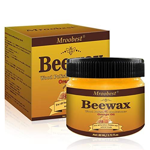 Möbelwachs farblos, Beewax-Möbelpflege Bienenwachs, Wood Seasoning Beewax, Heimwerker Poliert NatüRlichen Glanz, For Furniture Care, Covering Scratches