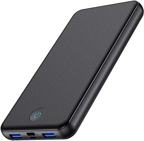 HETP Power Bank - Fast Charging 26800mAh Portable Charger【Quick Charge 3.0 Power Delivery】 External Battery Pack 3-Output & 2-Input Type-C Power Banks for iPhone Samsung and More-[18W PD]-Black
