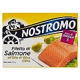 Tonno Nostromo Filetti di Salmone All'Olio di Oliva, 110 G