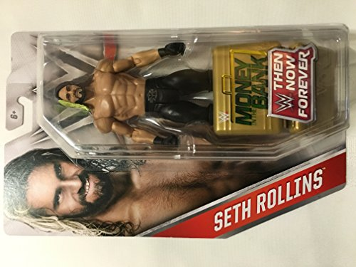 WWE, Basic Series, 2016 Then Now Forever, Seth Rollins Action Figure by Mattel, Farbe/Modell Sortiert