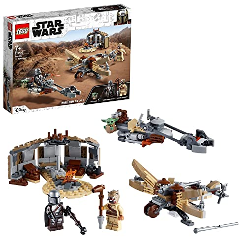 LEGO75299StarWars:TheMandalorianProblemasenTatooine,SetdeConstrucciónconFiguradeBabyYodaElNiño,Temporada2