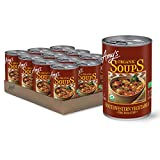Twelve 14.3 oz. cans of Amy's Organic Fire Roasted Southwestern Vegetable Soup the whole family will love Made with organic, fire-roasted corn, onions, green peppers, black beans, and mildly seasoned green chiles and spices Great when served with a w...