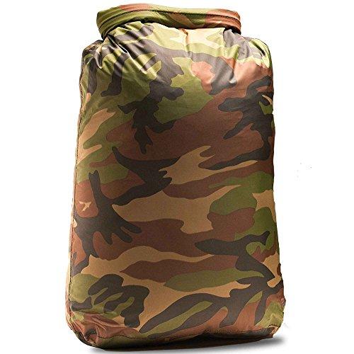 Aqua Quest Rogue Lot de 3 sacs étanches 10 L, 20 L, 30 L, 60 L, 100 L ou 3 pièces Motif camouflage ou olive, camouflage, 100 L