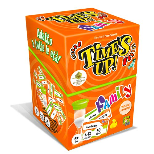 Asmodee - Time's Up Family 2 (Naranja) -8216 Italia, Color