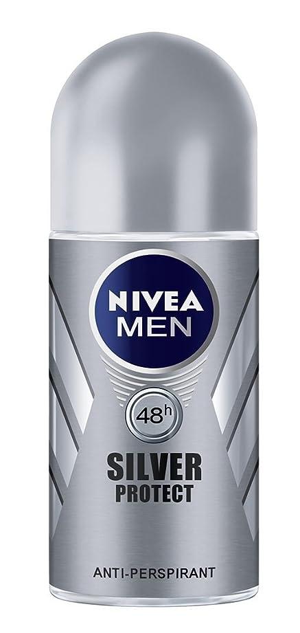 ギターニックネーム舌なNivea Men Silver Protect Anti-Perspirant Roll-On 50 ml / 1.7 oz