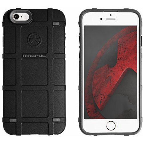 "Authentic Made in U.S.A. Magpul Industries Bump Case for Apple iPhone 6 / 6S (4.7"") Magpul Bump Case iPhone 6 Black/Grey"