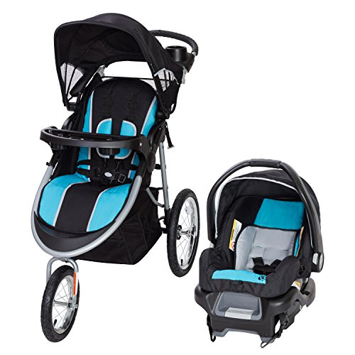 Baby Trend Pathway 35 Jogger Travel System, Optic Aqua