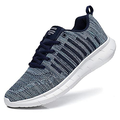 Oltyutc Zapatos para Hombre Sneakers Zapatillas Running Deportivas Casual Tenis Zapatos Zapatillas Asfalto Transpirables Ligeras Zapatos Antideslizantes