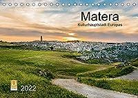 Matera (Tischkalender 2022 DIN A5 quer): Kulturhauptstadt Europas 2019 (Monatskalender, 14 Seiten )
