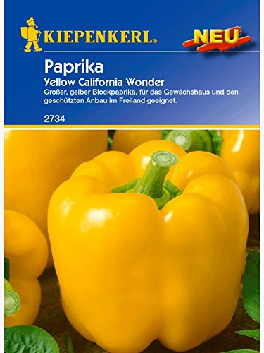 Paprika Yellow California Wonder