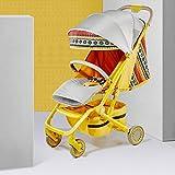 KPDVXA Kinderwagen Baby Kombikinderwagen Sportwagen Buggy Und Tragewanne in Einem Babyschale Große Räder Luftreifen Hohe Verarbeitungsqualität Bequemer Buggy,B