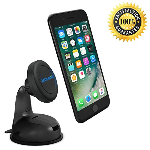 Photo of JEBSENS Car Phone Holder CM03 New Magnetic Cradle-less Car Mount Phone Holder Windshield Dashboard Mount, Compatible With All Smartphones – Super Strong Magnetic Grip …