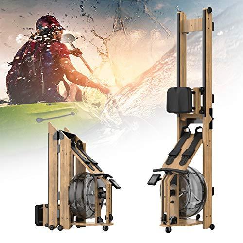 HNWTKJ Wasser-Rudergerät, Compact, Water Ruderzugmaschine Mit Regulierbarem Wasserwiderstand, Rower Mit 200 Kg Benutzergewicht
