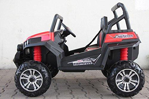 RC Kinderauto kaufen Kinderauto Bild 1: OFFROAD UTV ALLRAD 4x45W 2x12V Elektroauto Kinder Elektro Auto Kinderfahrzeug Ferngesteuert Elektro (Weiss)*