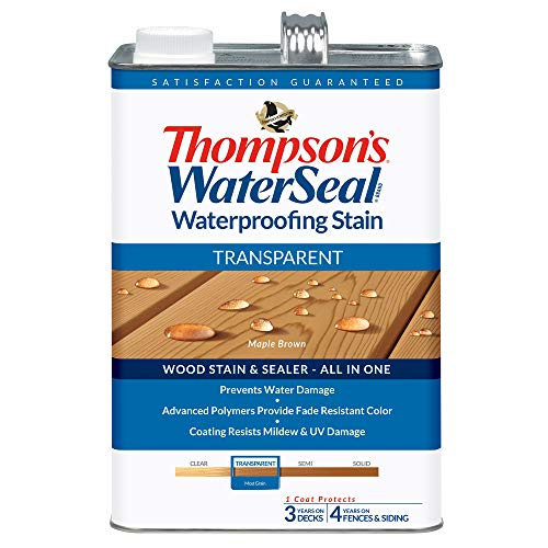 THOMPSONS WATERSEAL TH.041821-16 Transparent Waterproofing Stain, Maple Brown
