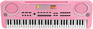 Yorten 61 Keys Electronic Organ USB Digital Keyboard Piano Musical Instrument Kids Toy with Microphone