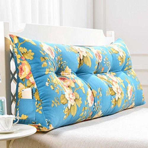 Fu Man Li Trading Company Canapé lit double avec coussins Coussins doux pour lit douillet A+ ( Couleur : #3 , taille : 100*22*50cm )