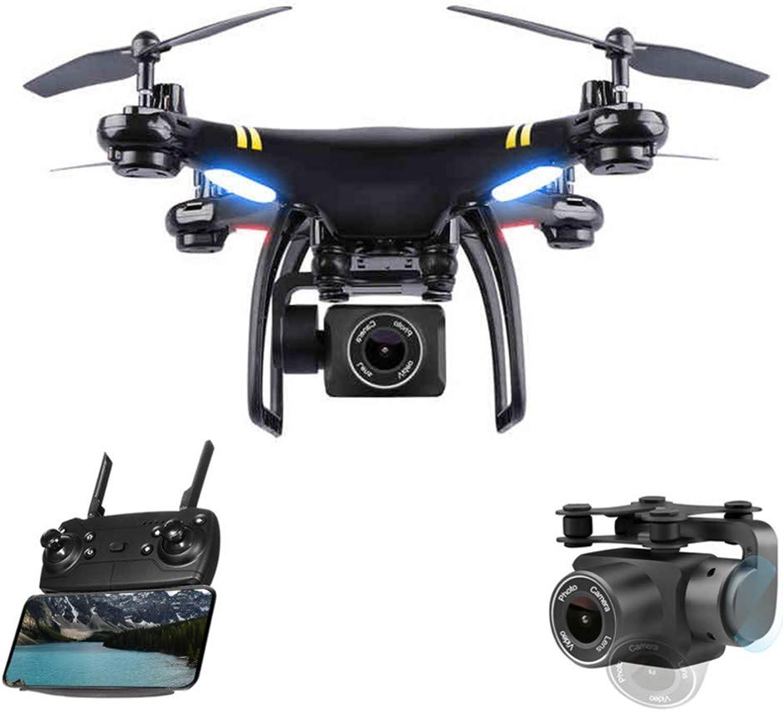 Groe professionelle Drohne GPS Stunt Anti-Verlorene 4-Achsen-1080P-Hd-Drohnenfahrmodus Led-Lichter WiFi Folgen Drohnen-Fixpunktflug Headless-Modus Remote-Echtzeit-Mapping