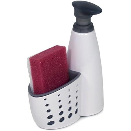Dispensador De Jabon Para Lavar Platos Soporte De Esponga Para Lavar Comodament