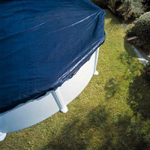 Bâche d'hivernage pour piscine hors-sol ovale : diam 610 x 375 cm